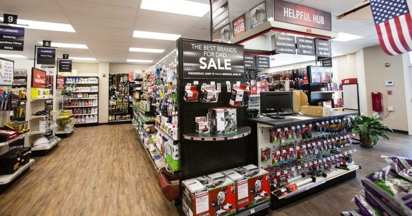 Stellos Recently Completed The Wiring Of A New Addition To Nashua Wallpaper Building Which Now Serves As Showroom For Ace Hardware
